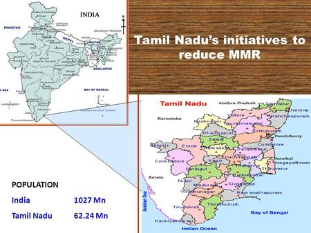 Tamil Nadu's initiatives to reduce MMR