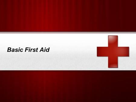 Basic First Aid.  Chain of Survival  What is First Aid?  Scene Survey  Initial Assessment  Victim Assessment Sequence  Bleeding Control  Shock.