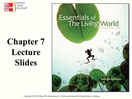 Chapter 7 Lecture Slides