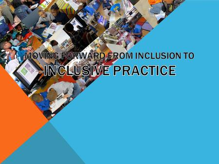 discrimination and inclusive practice Get access to explain how inclusive practice promotes equality and supports diversity essays only from anti essays listed results 1 - 30 get studying.