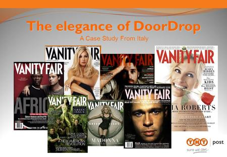 The elegance of DoorDrop A Case Study From Italy.