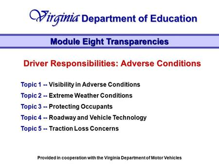 Virginia Department of Education