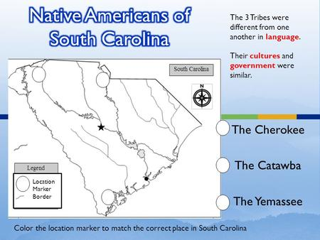Native Americans of South Carolina