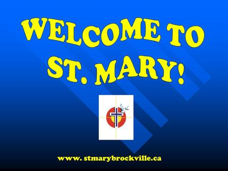 Www. stmarybrockville.ca. GUIDANCE 3 Guidance Counsellors 3 Guidance Counsellors ☺ Mrs. Easter ☺ Mrs. Kargus ☺ Mrs. Wooller.