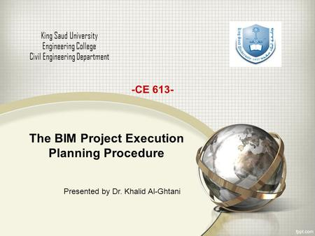 The BIM Project Execution Planning Procedure