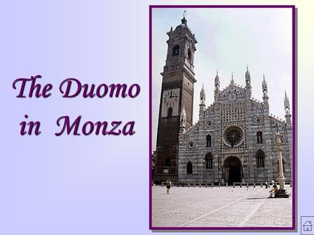 The Duomo in Monza.