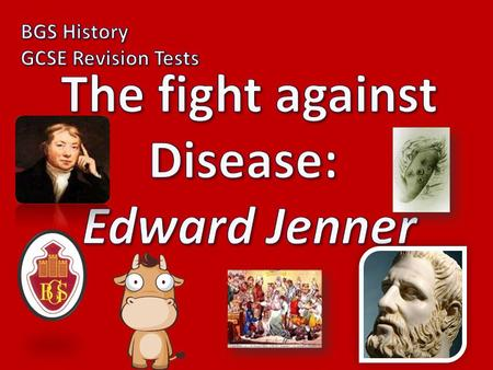 Disease: Edward Jenner