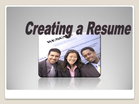 Participants will understand different resume formats and online resources in order to help clients create targeted resumes and get an interview.