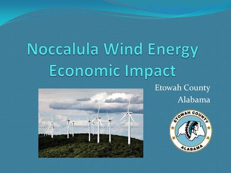 Etowah County Alabama. Etowah County has been selected to be the first site in Alabama for a wind energy farm. Pioneer Green Energy is the developer The.