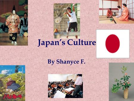 Japan's Culture By Shanyce F.. Government in Japan Japan's constitution was made in 1947. The government has three branches: the legislative (which in.