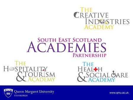 Why have the academies been set up in these industries ? How will you benefit from joining one of the academies?