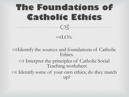 sources of catholic social teaching essay We will write a custom essay sample on social trends specifically for you  for only $1638 $139/page order now search  sources of catholic social teaching.