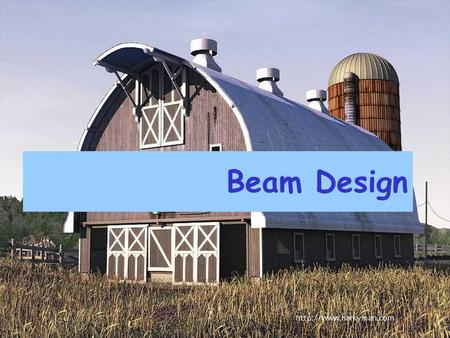 Beam Design. RC BEAM DESIGN Based on BS 8110 Partial Safety Factor γ m  Cl. 2.4.4.1  Given in Table 2.2.