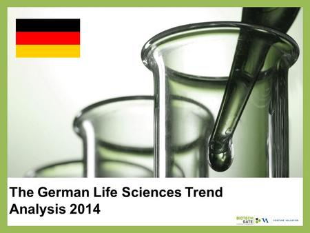 The German Life Sciences Trend Analysis 2014. About Us The following statistical information has been obtained from Biotechgate. Biotechgate is a global,