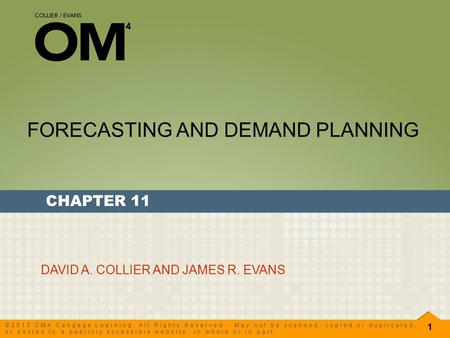 demand planning and forecasting pdf