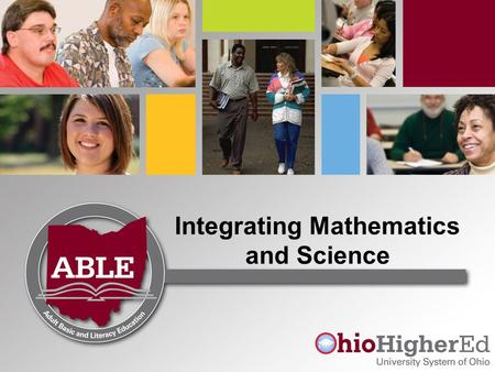 Integrating Mathematics and Science. Benefits of Integration Integrates content and skills from multiple content areas into one cohesive learning experience.