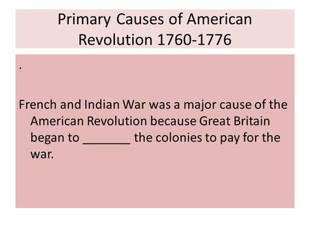 to what extent did the american revolution instigate change within the us essay