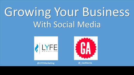Growing Your Business With
