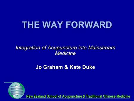 New Zealand School of Acupuncture & Traditional Chinese Medicine