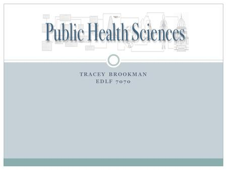 TRACEY BROOKMAN EDLF 7070 Public Health Sciences On-line Open House.
