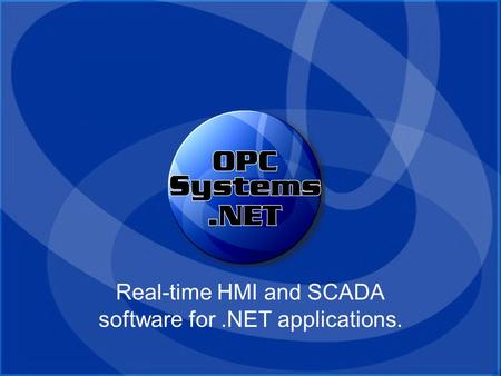 Real-time HMI and SCADA software for .NET applications.
