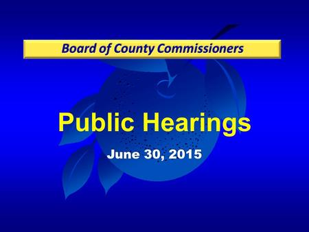 Public Hearings June 30, 2015. Case: CDR-14-12-346 Project: Waterford Lakes Planned Development / Land Use Plan (PD/LUP) Applicant: Vivien Monaco, Burr.