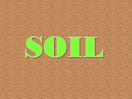 Soil 50% pores and 50% solids www.PhysicalGeography.net.