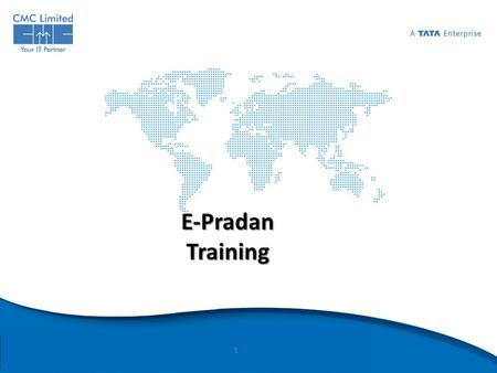 E-Pradan Training.