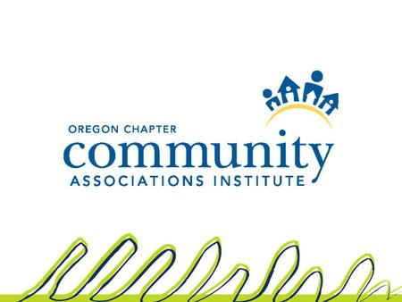 By Matthew R. Wilmot Schwabe, Williamson & Wyatt, P.C. Copyright Issues for Homeowners' and Condominium Associations.