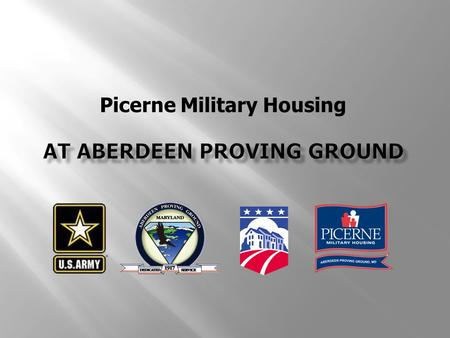 Picerne Military Housing. 2 Residential Communities Initiative Military Housing Privatization (MHPI) Act - 1996 Eliminate Inadequate housing through public-private.