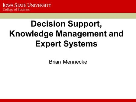 knowledge management and decision support system Data warehouses and knowledge repositories decision support tools definition of kms a knowledge management system comprises a range of practices used in an organization to identify, create, represent, distribute, and enable adoption to insight and experience.