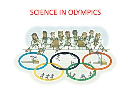 SCIENCE IN OLYMPICS Do you know the composition of a GOLD medal? Gold and silver medals are 92.5% silver. Gold medals must be plated with at least 6.