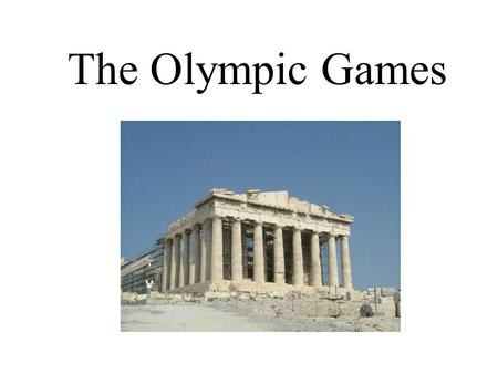 The <strong>Olympic</strong> Games. The <strong>Olympic</strong> <strong>rings</strong> are lit up during the opening ceremony <strong>of</strong> the Athens <strong>Olympic</strong> Games August 13 th.