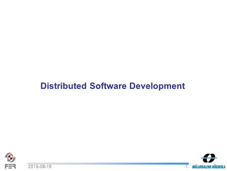12015-08-19 Distributed Software Development. 22015-08-19 Requirements Definition and Design Description Presentation : Live TV Customers : Damir Isovic.