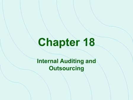 outsourcing of internal auditing A lot of organizations are faced with having to decide on which model to use in regards to internal audit in house vs outsourcing.