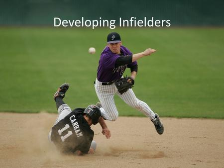 Developing Infielders. Areas of Development Physical Aspects Leadership Aspects Mental Aspects.