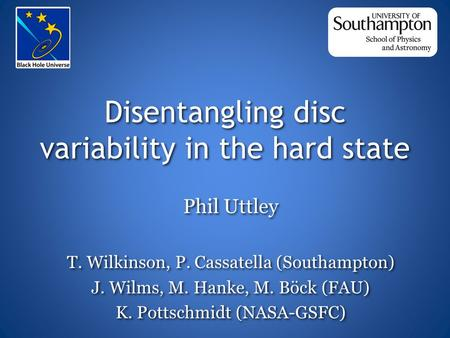 Disentangling disc variability in the hard state