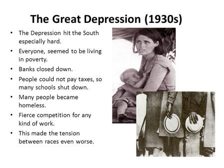 Great Depression Essays