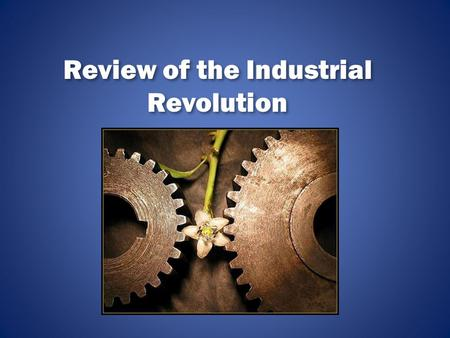 how the industrial revolution effected the The fourth industrial revolution will impact every sector and business mark skilton and co-author felix hovsepian reveal in a new book just how to survive it.