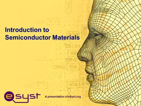 Introduction to Semiconductor Materials
