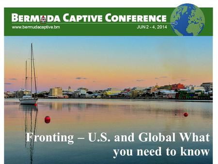 Fronting – U.S. and Global What you need to know