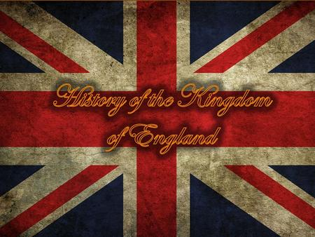  History of the Kingdom of England covers the period from the Norman invasion in 1066 and the conquest of the south-eastern part of the island of Great.