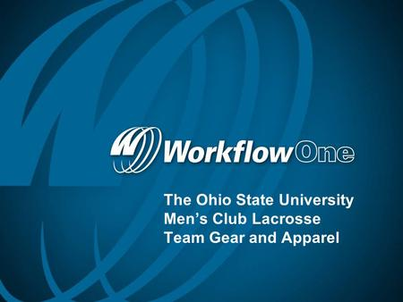 The Ohio State University Men's Club Lacrosse Team Gear and Apparel.