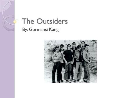 essay on the outsiders book I am writing an essay for english about the outsiders book the main topic is about how everyone wants to be accepted i know that i want to write about that ponybody doesn&#39t feel accepted into his group of greasers because his oldest brother pushes him and seems not to love him.