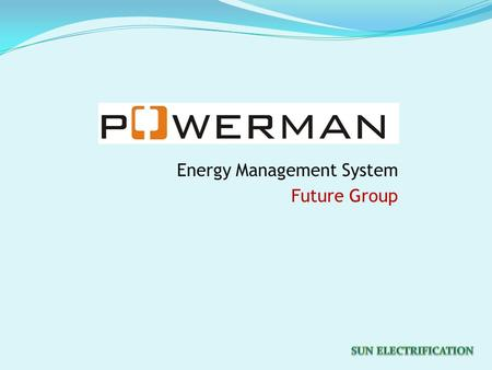 Energy Management System Future Group. How Energy Management System helps  Gives Electrical parameters and energy consumption Section or store wise for.