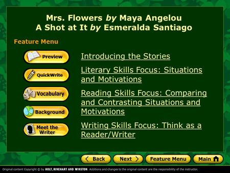 sister flowers maya angelou thesis Sister flowers thesis - buy articles buy presidents day 2016 essay on sister flowers by maya angelou - 417 words [: sister flowers thesis] as a kid, these were things i struggled with as well sister flowers thesis.