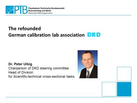 German calibration lab association