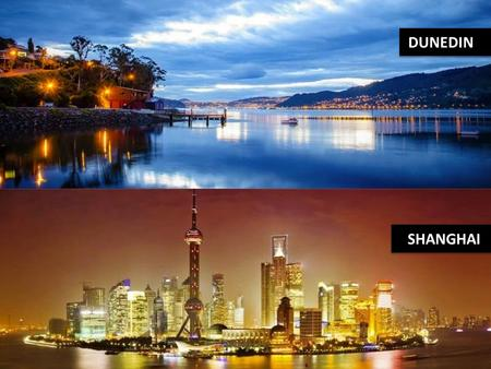 DUNEDIN SHANGHAI. HISTORY Relationship formalised in October 1994 Reflected the influence of early Chinese settlement in Dunedin The Dunedin City Council.