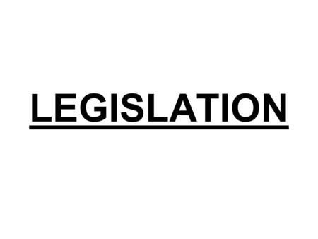 "LEGISLATION. It is derived from Latin word legis which means – law and Latum – "" to make"" or ""set"". Legislation means "" making of law"". It declares legal."