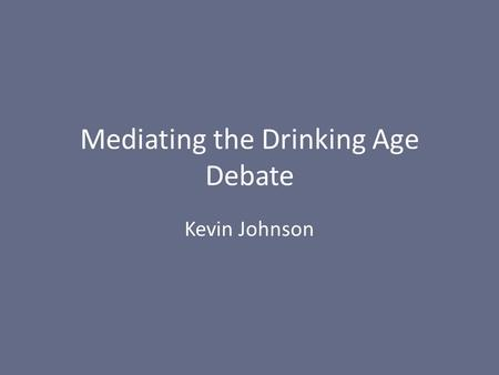drinking age controversy Should the drinking age be lowered from 21 to a younger age all 50 us states have set their minimum drinking age to 21 although exceptions do exist on a state-by-state basis for consumption at home, under adult supervision, for medical necessity, and other reasons.